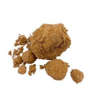 Photographie Golden Brown Pollen CBD
